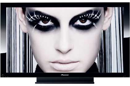 Televisores de plasma Pioneer con contraste 20.000:1