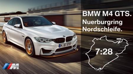 El BMW M4 GTS establece tiempo récord en el Nürburgring