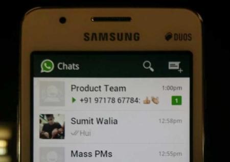 WhatsApp llegaría a Tizen junto con el lanzamiento del Samsung Z1