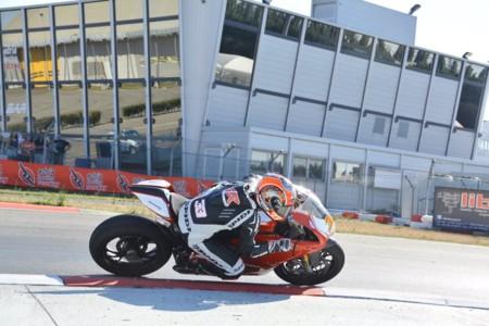 Marco Melandri ya rueda con la Ducati, la conquista de Superbike ha comenzado