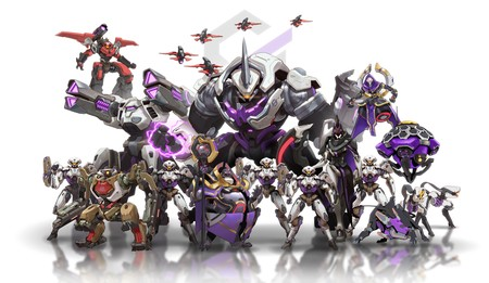 Ow2 Blizzcon 2019 Illustration Null Sector Lineup Png Jpgcopy