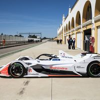 La nueva generación de coches de Fórmula E se estrena en Monteblanco
