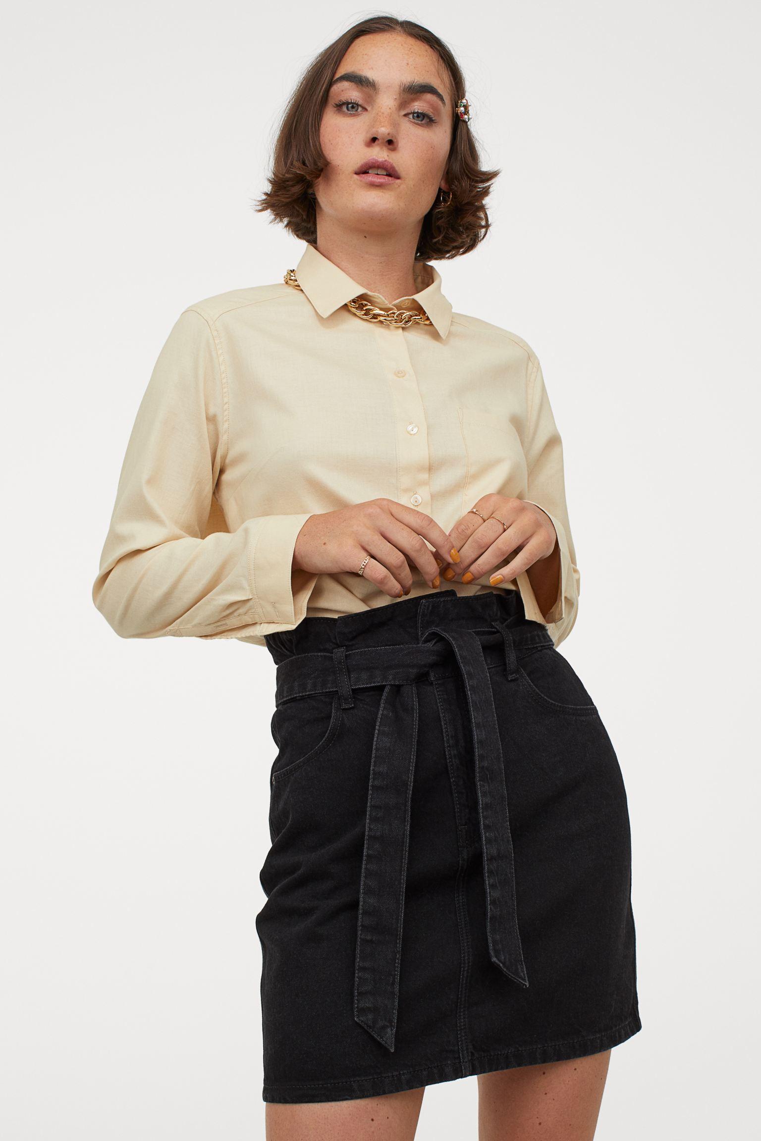 Camisa de algodón