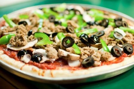 Pizza saludable cocinada por un nutricionista escocés