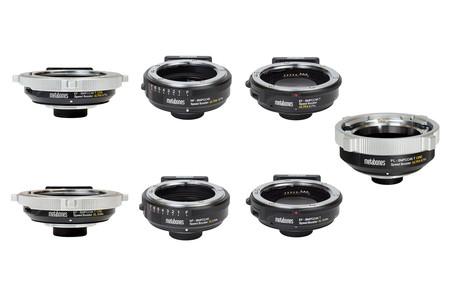 Así con los nuevos adaptadores Metabones para montura micro 4/3 de cámaras Blackmagic Pocket Cinema 4k