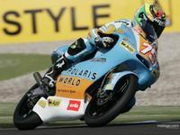 Mattia Pasini marca el mejor tiempo en Assen