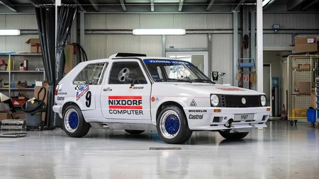 Así ha restaurado Volkswagen su Golf GTI de dos motores que compitió en Pikes Peak en 1987