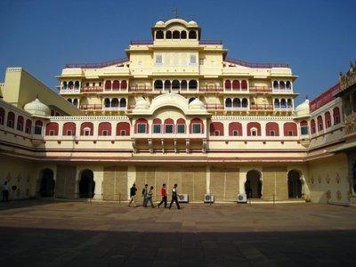 El Palacio de Jaipur en la India