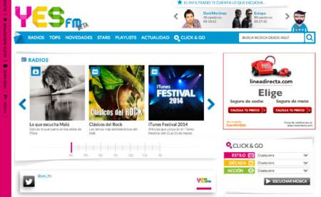 Emisoras virtuales y cuentas premium desde 2,99 euros mensuales: así es el nuevo Yes.fm