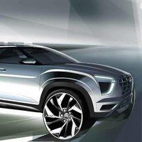 El Hyundai Creta 2021 insinúa su extrovertido diseño en este par de teasers