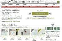 La colección de menús históricos de la Biblioteca de Nueva York. ¿Quieres colaborar?