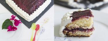 Sponge cheesecake o tarta Directo al Paladar, receta para conmemorar el nuevo logo