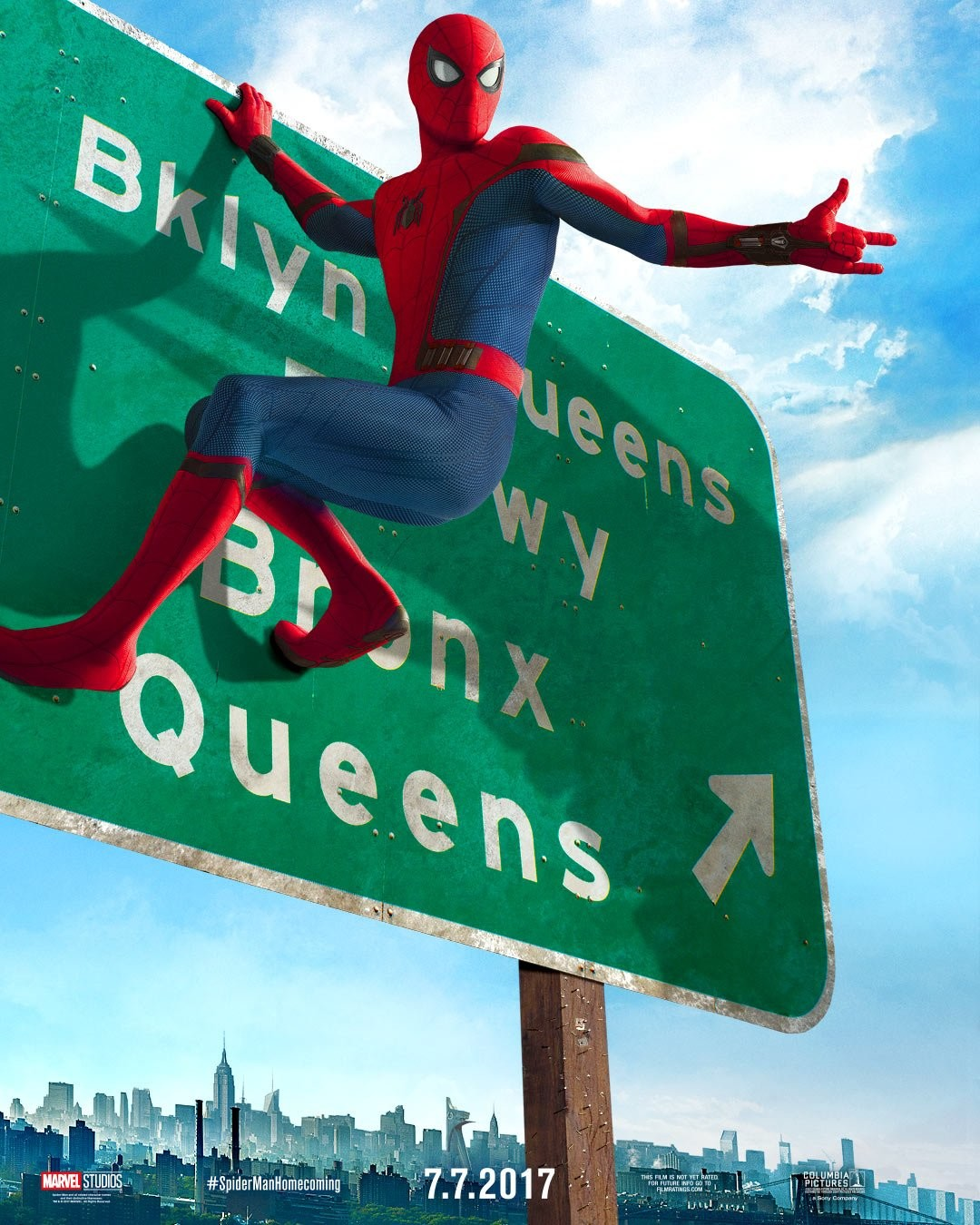 Foto de 'Spider-Man: Homecoming', primeros carteles (3/3)