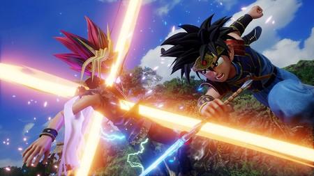 JUMP Force muestra en movimiento a Dai de Dragon Quest junto con Boruto, Kakashi o Gaara de Naruto