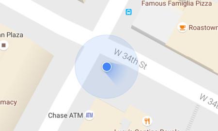 Google Maps renueva su flecha de dirección, así es el nuevo diseño linterna y así se calibra