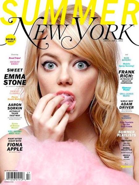 Emma Stone new york