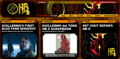 Hellboy 2: the golden army, lanzada su web oficial