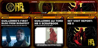 Hellboy 2: the golden army, lanzada su web oficial