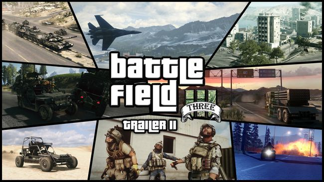 Grand Theft Auto V (Battlefield 3)