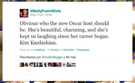 betty white fake