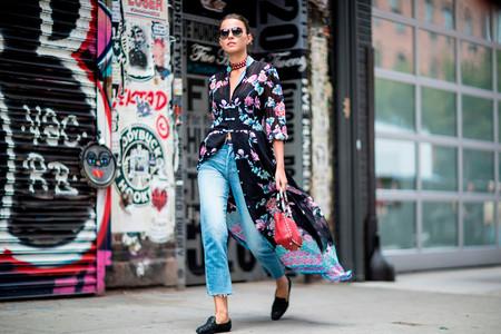 como combinar un kimono