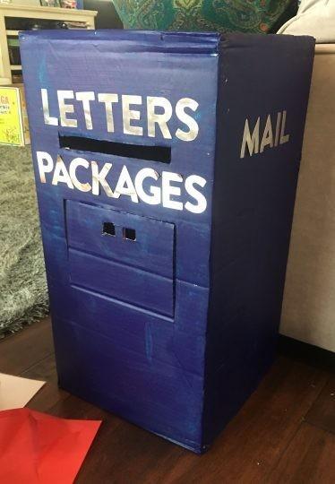 Manualidades Reciclados Caja Carton Buzon