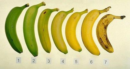 ¿Por qué se oscurece más deprisa la piel del plátano dentro de la nevera?
