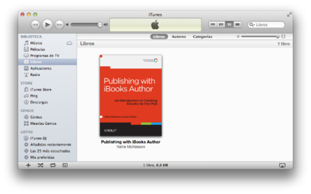 Publicando con iBooks Author, introducción a la creación de eBooks para iPad de O´Reilly