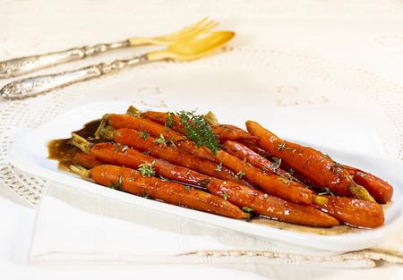Zanahorias Confitadas Al Tomillo