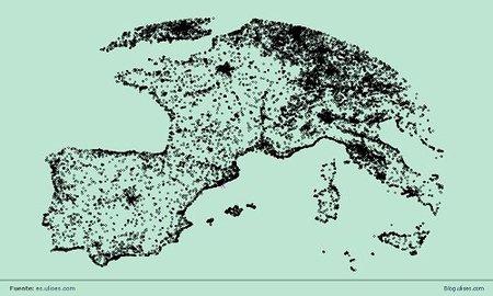 ¿Dónde se concentran los hoteles del mundo?