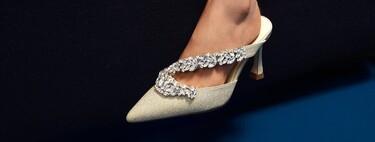 Los nuevos zapatos joya de Uterqüe son tan bonitos que serían capaces de conquistar a la mismísima Carrie Bradshaw