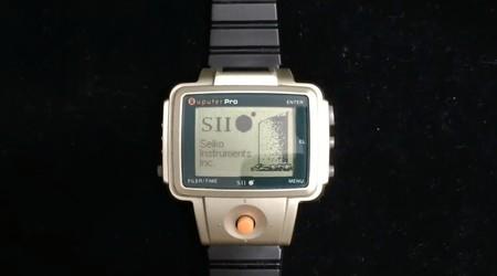 El primer reloj inteligente de la historia es de 1998: usaba infrarrojos, tenía apps y hasta un joystick