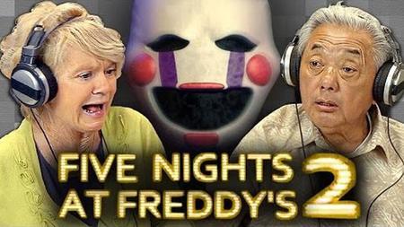 Los abuelitos no se impresionan facilmente con Five Nights at Freddy's