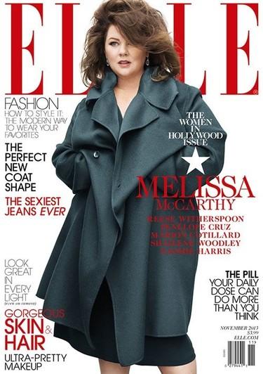 Con la portada de Melissa McCarthy en Elle USA vuelve la polémica