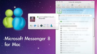 Microsoft Messenger 8 para Mac, versión final ya disponible