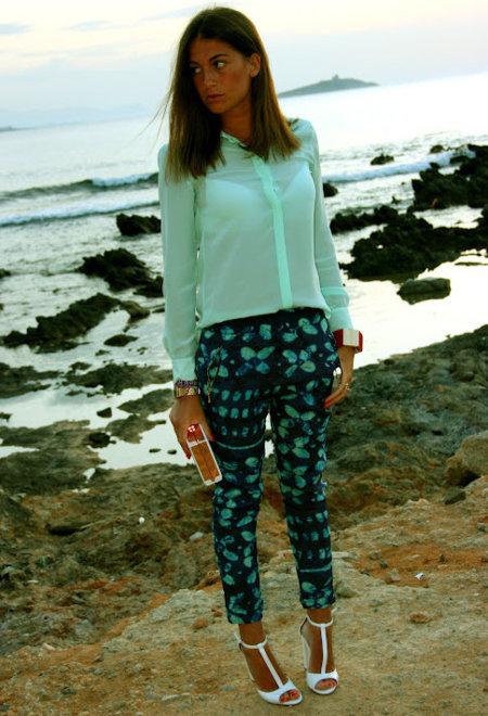 pantalones pijama zara
