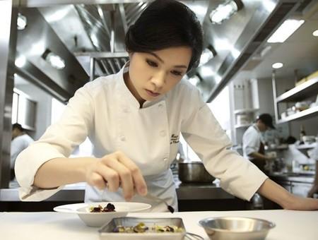 Lanshu Chen, la mejor chef femenina de Asia, en los premios Veuve Clicquot