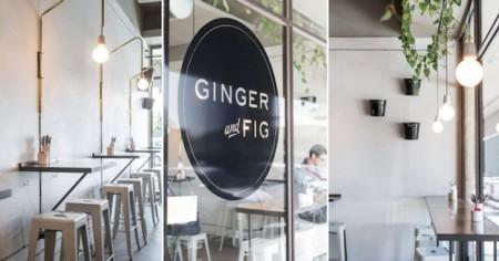 Ginger & Fig se encuentra en el barrio de Brooklyn. Pero no está en Nueva York, sino en Pretoria