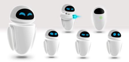 Iconos de Wall-E para Mac OS X y Adium