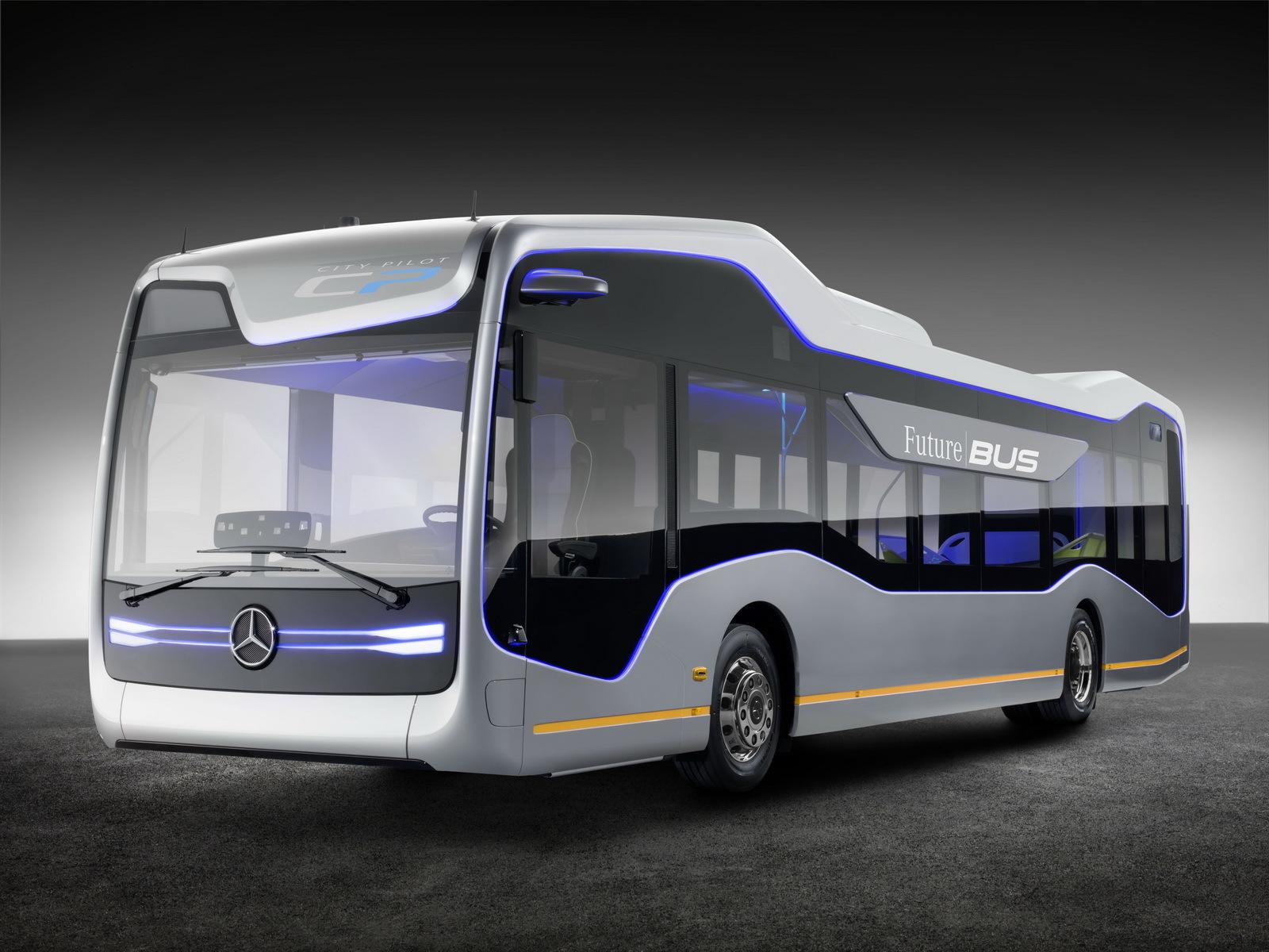 Foto de Mercedes-Benz Future Bus (30/36)