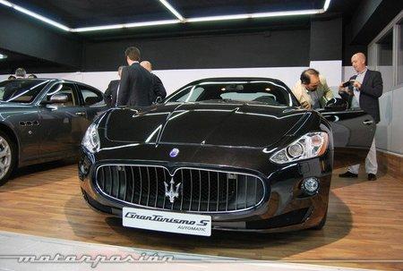 Maserati quiere doblar su red de concesionarios a corto plazo