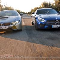 ¿Y si comparamos un Mercedes-Benz AMG GT S con un BMW i8? (Parte 2)