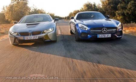 Y Si Comparamos Un Mercedes Benz Amg Gt S Con Un Bmw I8 Parte 2