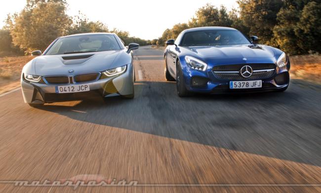 Bmw I8 Mercedes Amg Gt Motorpasion 04