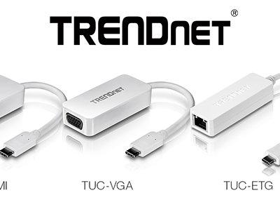 Si tienes puerto USB-C también tienes HDMI, VGA y Ethernet con estos adaptadores de TRENDnet