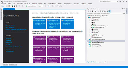 Visual Studio 2012, portada