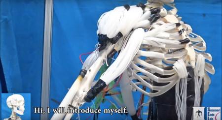 Han logrado crear el primer esqueleto robot que imita el movimiento de los músculos