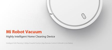 Robot aspirador Xiaomi Mi Robot Vacuum por 231,90 euros con este cupón de descuento