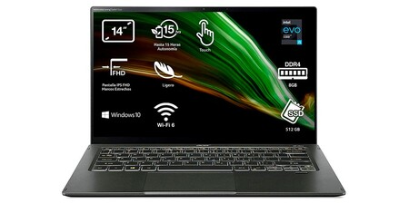 Acer Swift 5 Nu Sf514 55t 5001