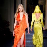 Naranja Versace Alta Costura Verano 2014